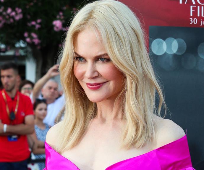 Nicole Kidman Sunscreen