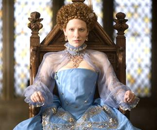 Cate Blanchett in Elizabeth: The Golden Age.