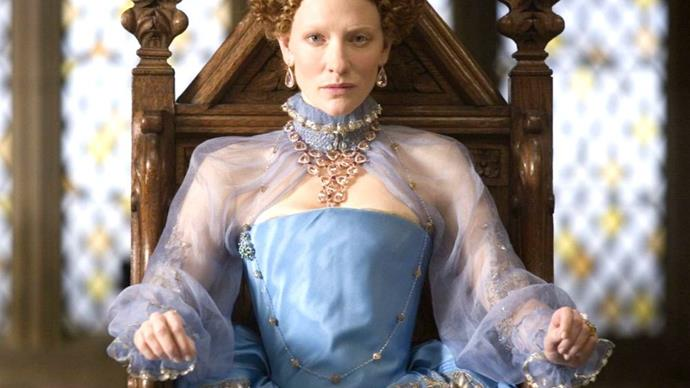 Cate Blanchett in Elizabeth: The Golden Age.