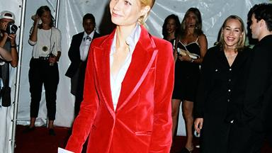 Gwyneth Paltrow Pays Homage To Her Go-To '90s Look