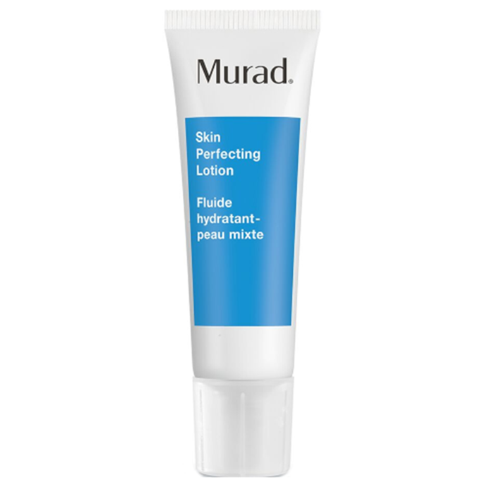 "**Blemish Control Skin Perfecting Lotion by Murad** <br><br> Murad's Skin Perfection Lotion not only aids oily skin, but minimises your imperfections at the same time—namely, existing acne and visible dark spots. <br><br> *$64 for 50mL at [ADOREBEAUTY](https://www.adorebeauty.com.au/murad/murad-skin-perfecting-lotion-50ml.html|target=""_blank""