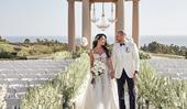 BAZAAR Bride: Erica And Mike's Lavish Hilltop Celebration