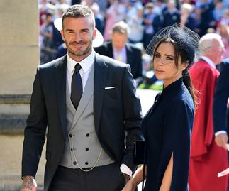 David Beckham Victoria Beckham.