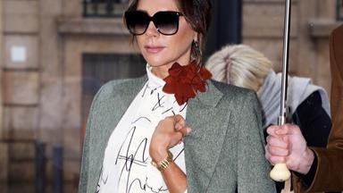 Victoria Beckham Uses A $20,000 Hermès Birkin As A Carry-On