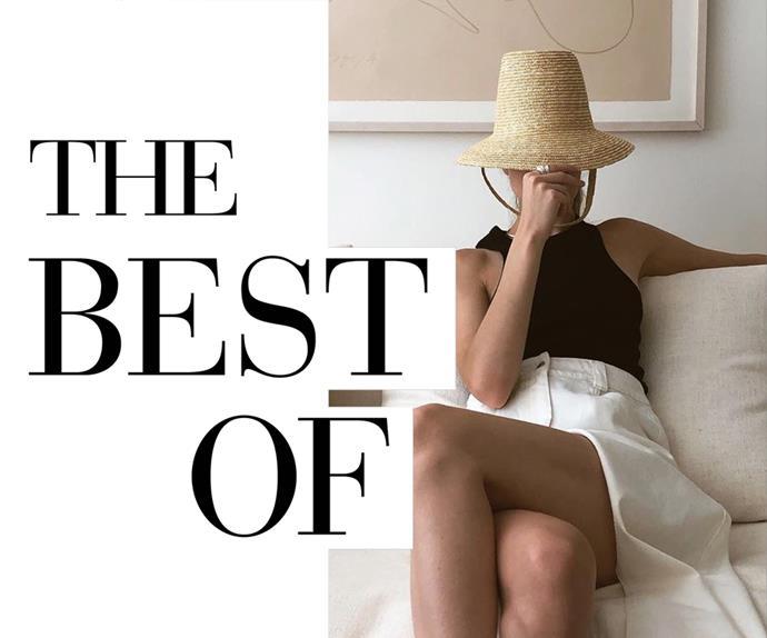 Christie Tyler wearing straw hat.