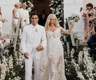 Devon Windsor and Johnny Dex wedding.
