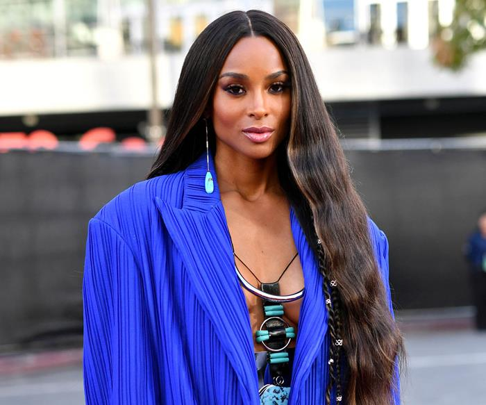 Ciara at the American Music Awards 2019.