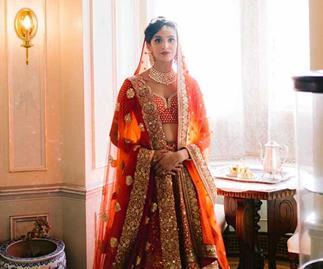BAZAAR Bride: Anjali And Solon's Colourful, Cross-Cultural Soirée