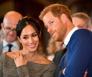 Meghan Markle And Prince Harry Just Shared A Never-Before-Seen Candid Wedding Photo