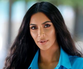 Kim Kardashian Karl Lagerfeld Carine Roitfeld.