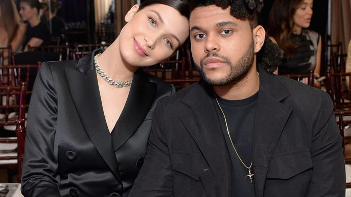 The Weeknd Bella Hadid.