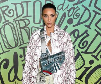 Kim Kardashian at Dior in Miami.