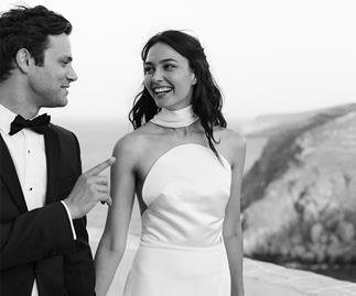 BAZAAR Bride: Katharina And Jared's Dreamy Greek Island Getaway