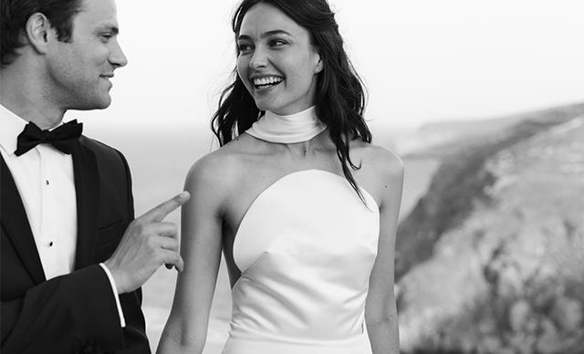 BAZAAR Bride: Katharina And Jared's Dreamy Greek Island Getaway