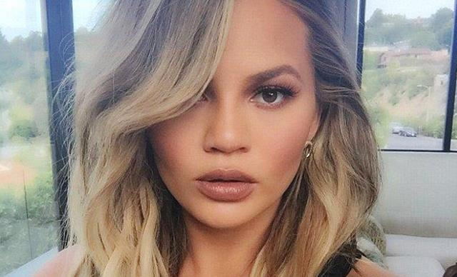 Chrissy Teigen Thinks Her New Haircut Makes Her Look Like Melania Trump