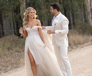 BAZAAR Bride: Renae And Andrew's Relaxed Hunter Valley Escape