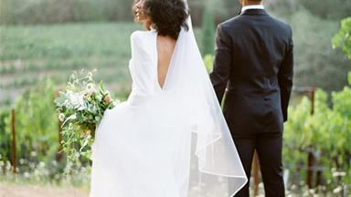 Bazaar Bride: Stacia and Mario's Breezy Napa Valley Soirée