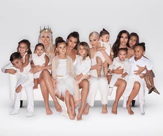 Kardashian West family.