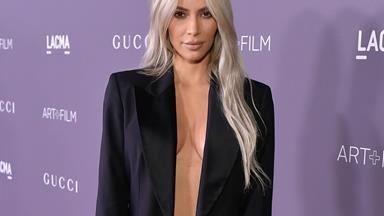 Every Time Kim Kardashian Has Worn Vintage Designer Fashion