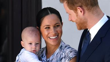 Meghan Markle And Prince Harry Share A Brand New Photo Of Baby Archie In Canada