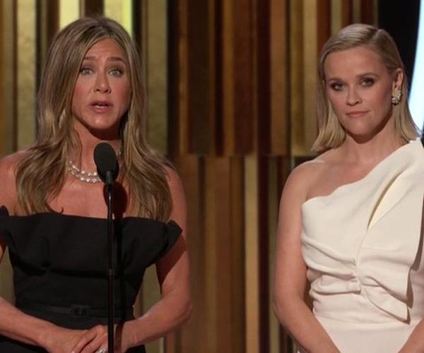 Russell Crowe Had Jennifer Aniston Accept His Golden Globe Award With Impassioned Speech