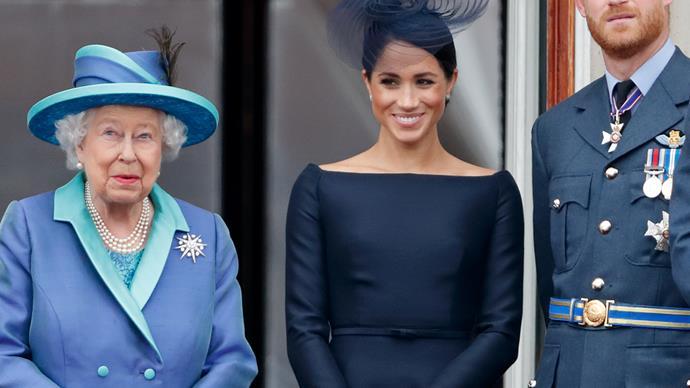Meghan Markle Queen Elizabeth.