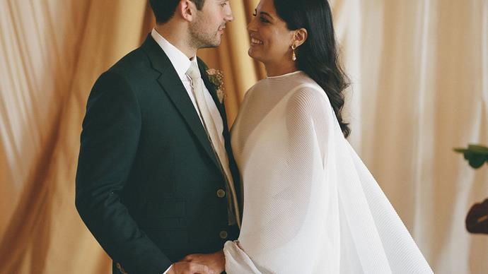Bazaar Bride: Maya and Stephen's Elegant London Riverside Ceremony