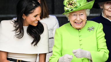 Queen Elizabeth II Releases An Earnest Statement About Meghan And Harry
