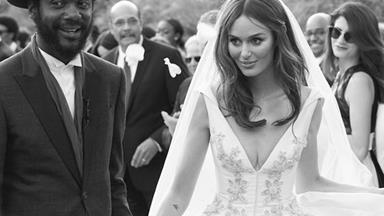13 Of Australia's Most Memorable Celebrity Wedding Dresses