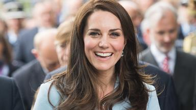 A Rare Glimpse Into Kate Middleton's Home Reveals The Duchess' Classic Taste In Books