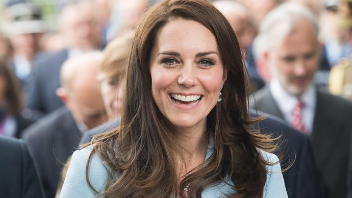 Kate Middleton in Kensington Palace.