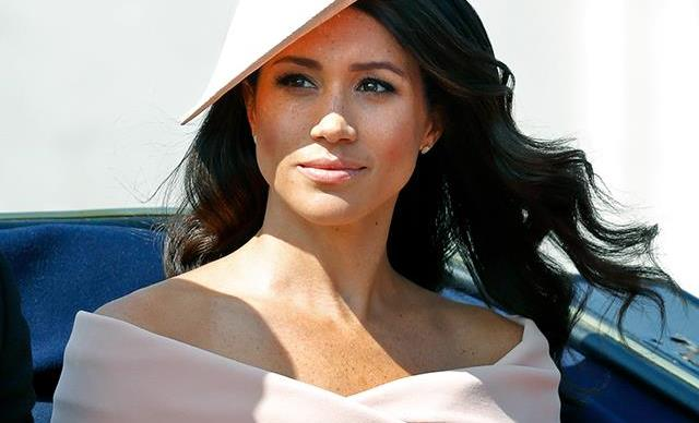 Meghan Markle at Trooping The Colour 2018.