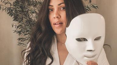 These Are The LED Face Masks Celebrities Are Constantly Wearing On Instagram