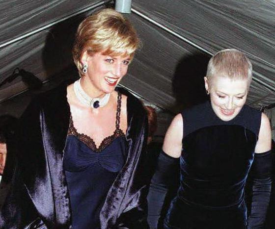 Princess Diana Met Gala 1996.