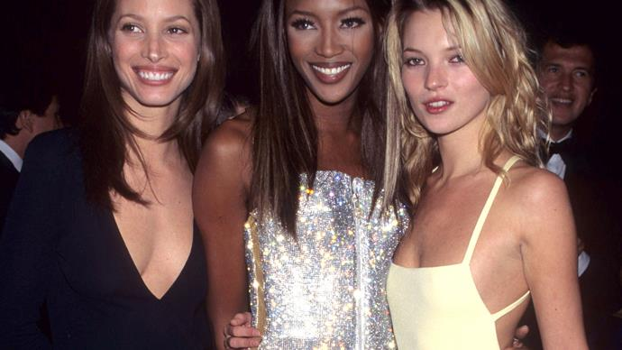 Christy Turlington Naomi Campbell Kate Moss.