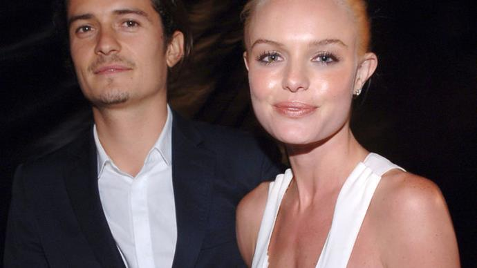 Orlando Bloom and Kate Bosworth.