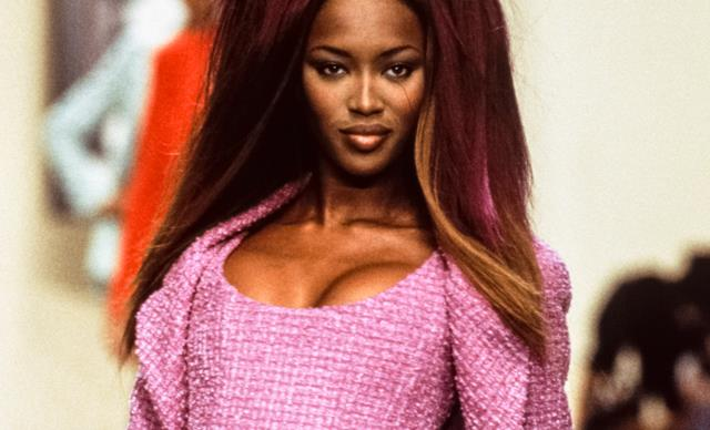 Naomi Campbell Walking The 1993 Vivienne Westwood Runway