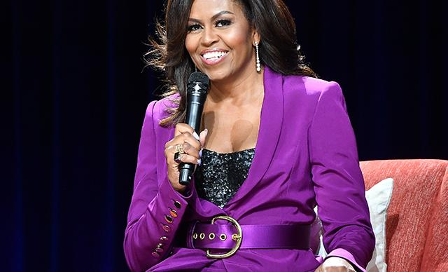 Michelle Obama at 'Becoming: An Intimate Talk With Michelle Obama'
