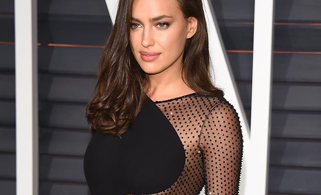 Irina Shayk Vanity Fair After Party