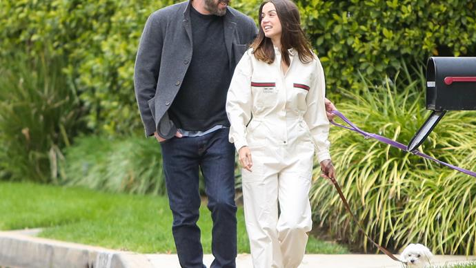 Ben Affleck and Ana de Armas.