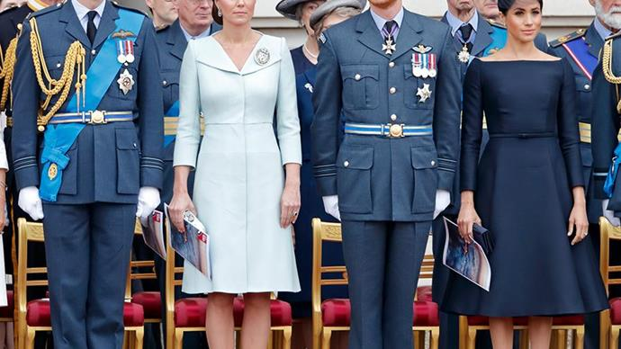 Kate Middleton, Prince William, Meghan Markle and Prince Harry.