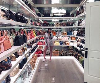 Kylie Jenner closet.