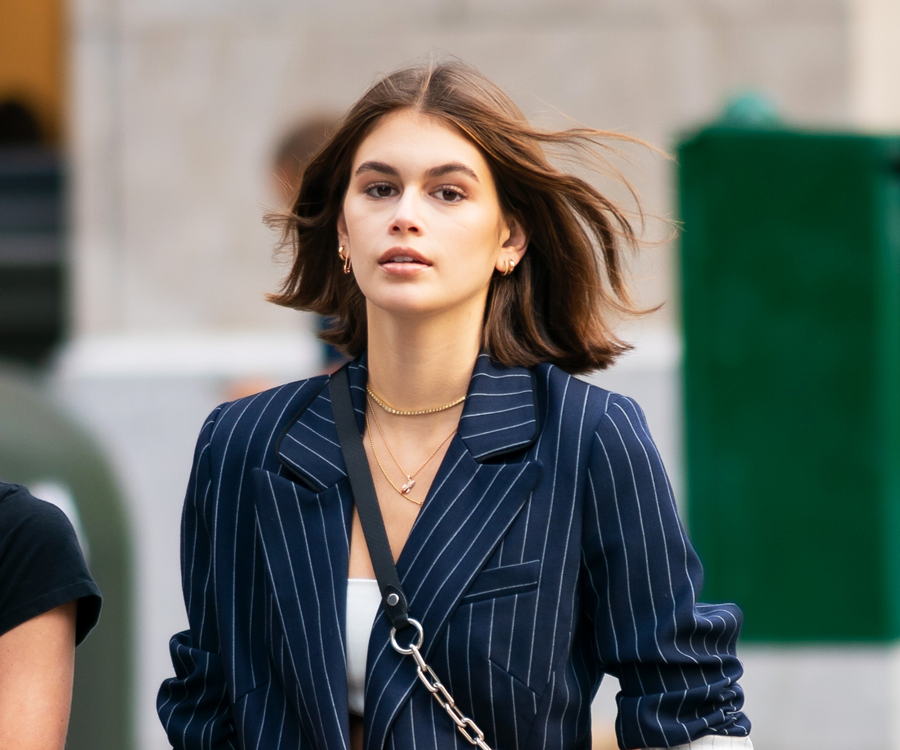 Kaia Gerber Just Debuted Blonde Hair On Instagram, Just In Time For The American Summer