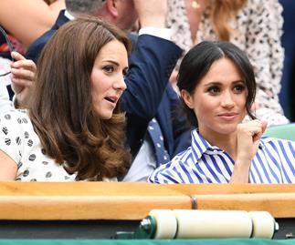 Meghan Markle and Kate Middleton.
