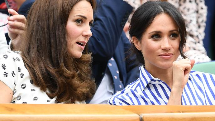 Meghan Markle and Kate Middleton.