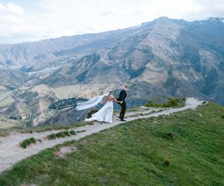Wedding in Queenstown, New Zealand.