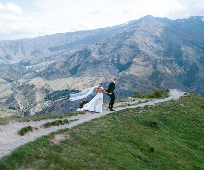 Wedding in Queenstown, New Zealand.