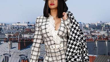 Cardi B Masters The Art Of Matching With Her Louis Vuitton Collection