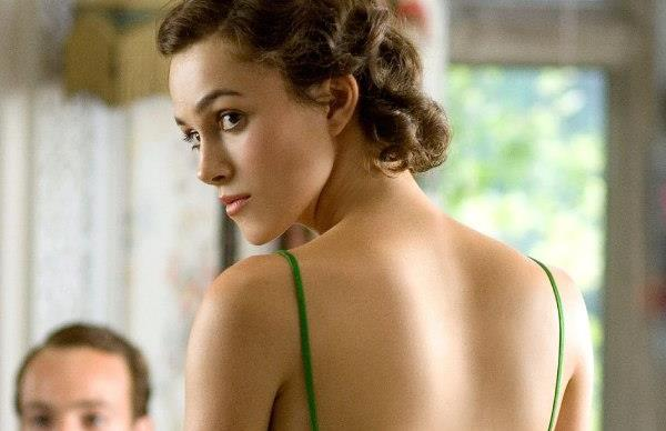 Keira Knightley in Atonement.