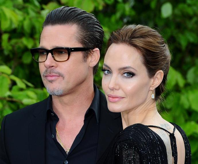 Angelina Jolie on why she split from Brad Pitt.